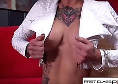 FirstClassPOV - Kleio Valentien take a monster cock in her throat, big booty