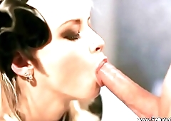Luscious Blonde Blowjob Fun