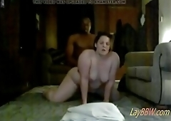 busty BBW slut hard pounded by BBC on hidden cam