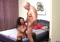 German Mom And Dad fuck in Amateur Sextape