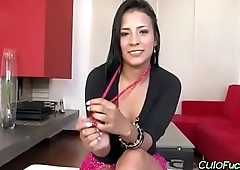 Colombian Cutie First Time