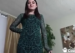 Teen Amy Faye Plays With Her Pretty Hairy Pussy