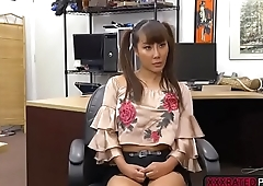 Busty asian Tiffany Rain takes Shawns massive cock