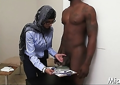 Have a look at the stunning threesome by 2 lascivious arab bitches