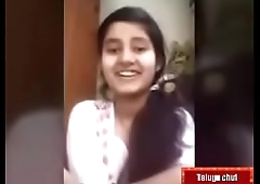 Telugu teen girl swathI IMO call with her bf
