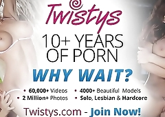 Twistys - (Antonia, Melanie Memphis) starring at Lovers In The Grass