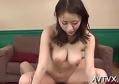 Marvelous japanese babe'_s cunt is wet from uncouth banging