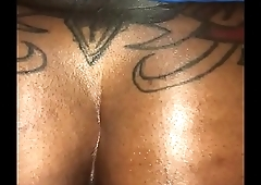 Husband tearing his wife asshole open