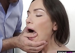 Skinny Honey Nataly Gold Gets Anal