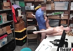 LP Officer Punishes Nubile Teen Stealer