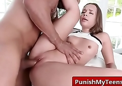 Submissive XXX Porn Driving Miss Rowe with Liza Rowe porn clip-02
