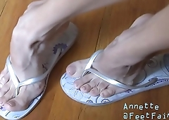 Cams4free.net - Blonde With Sexiest Feet High Arches