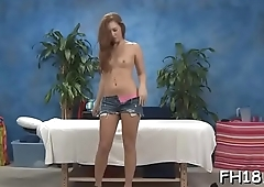 Sexy 18 year old sexy wench gets fucked hard by her massage therapist!