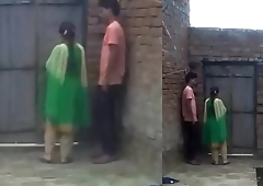 Boy enjoy with his girl friend when no one home