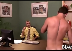 College boys are enjoying their 1st anal as roommates